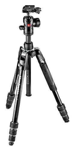 Manfrotto Befree Advanced MKBFRTA4BK-BHUS Tripod