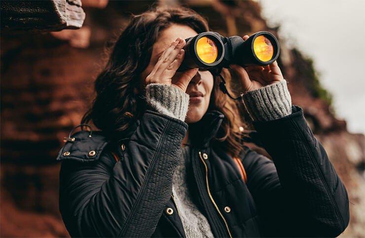 Binocular types of lenses