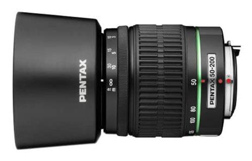 Pentax SMC-DA 50-200mm f/4-5.6 ED WR Lens