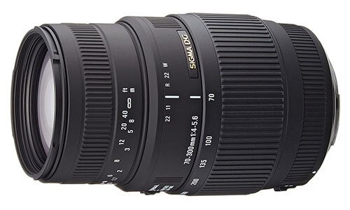 Sigma 70-300mm F4-5.6 DG Macro Telephoto Lenses