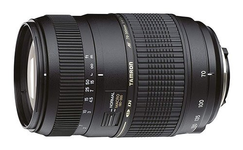 Tamron 70-300mm F/4-5.6 Di LD Macro Telephoto Zoom Lens