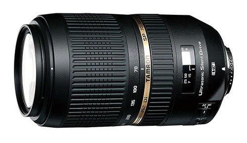 Tamron SP 70-300mm F/4-5.6 Di VC USD Lenses