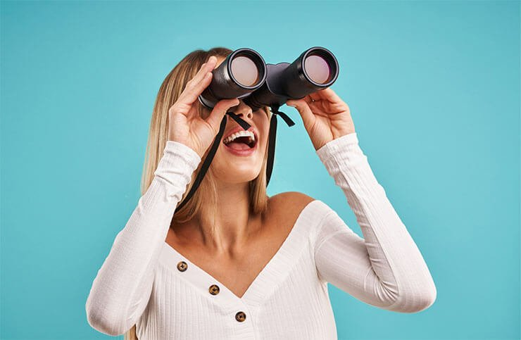 What do the numbers on binocular mean